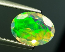 """1.68 ct """" Top Fire Gem """" Awesome Oval Cut Ethiopian Fire Opal"""