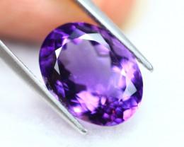 6.01Ct Natural Purple Amethyst Oval Cut Lot LZ3820