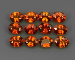5.10 Cts_Oval Cut_Marvelous_Electric Orange_Africa_Sizzling_Spessarite_~