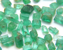 86Ct Natural Emerald Facet Rough Parcel