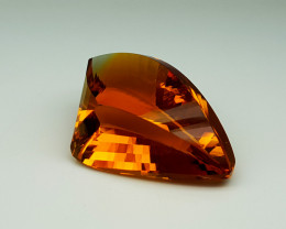 25Crt Madeira Citrine  Natural Gemstones JI65