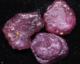 60.86 CTS RUBY ROUGH PARCEL FROM MADAGASCAR  -TREATED  [F8327]
