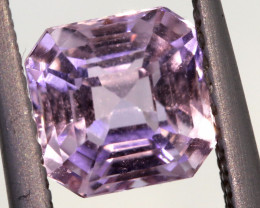 1.78 CTS -KUNZITE FACETED GEMSTONE    PG-3175