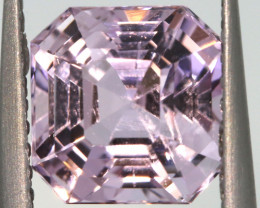 2.57 CTS -KUNZITE FACETED GEMSTONE    PG-3180