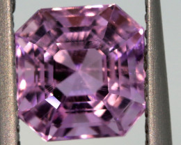 2.27 CTS -KUNZITE FACETED GEMSTONE    PG-3182