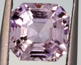 2.20 CTS -KUNZITE FACETED GEMSTONE    PG-3184