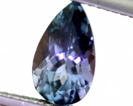 1.75  CTS - TANZANITE FACETED GEMSTONE  RNG-30