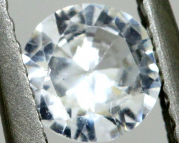 0.52  CTS   WHITE UNHEATED SAPPHIRES  RNG- 276