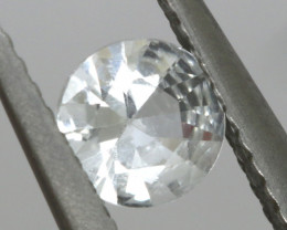 0.52  CTS  WHITE UNHEATED SAPPHIRES  RNG- 278