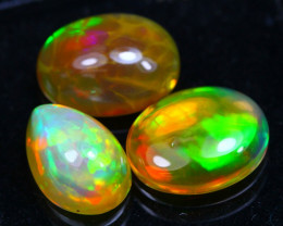 Welo Opal 4.16Ct Bright Color Play Ethiopian Opal B2801