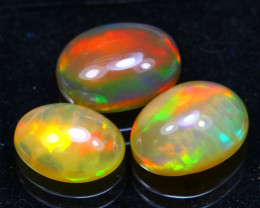Welo Opal 4.60Ct Bright Color Play Ethiopian Opal B2803