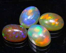 Welo Opal 3.34Ct Bright Color Play Ethiopian Opal B2805