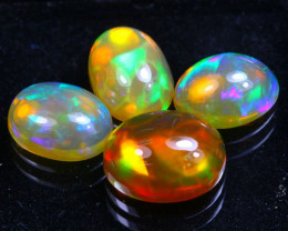 Welo Opal 4.27Ct Bright Color Play Ethiopian Opal B2806