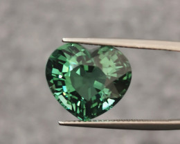 11.64 Cts Attractive Beautiful Heart Shape Natural Tourmaline