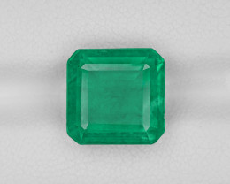 Emerald, 5.21ct - Mined in Zambia | Certified by IGI