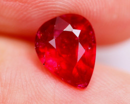 2.44cts Blood Red Colour Ruby / RD50