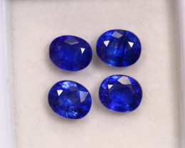 4.01cts Royal Blue Colour Sapphire Lots /  RD60