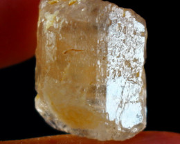 56.60 CT Natural & Unheated Orange Brown Topaz Crystal