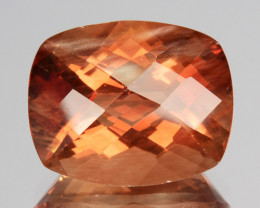~RARE~ 3.53 Cts Natural Oregon Sunstone Andesine 11x9mm Cushion USA