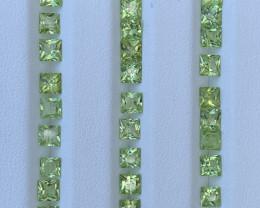 10.47 Carats  Peridot Gemstones Parcels