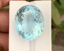 73.35 Carats Unheated Aquamarine Gemstone from Pakistan