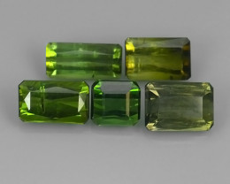 6.80 CTS-ALLURING TOP GREEN PARTY COLOR GREEN TOURMALINE OCTAGON CUT!!