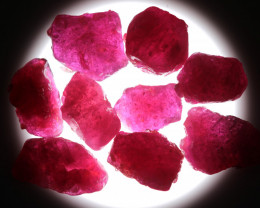 140.71 CTS RUBY ROUGH PARCEL FROM MADAGASCAR  -TREATED  [F8379]