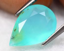 Paraiba Opal 2.17Ct Natural Peruvian Paraiba Blue Opal A2920