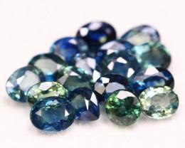 Blue Sapphire 5.04Ct Natural Blue Color Sapphire Lot A2921