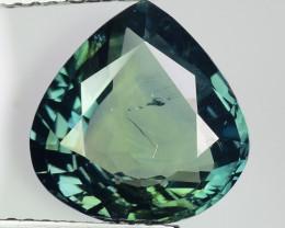 4.48 Cts Rich Bi Color Sapphire Sparkling Intense GS1