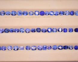 Sapphire from Sri Lanka  best for Jewelry 27 carats lot, No Heat
