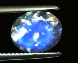 2.67Ct Natural Royal Blue Moon Stone Oval 10 X 8mm Faceted