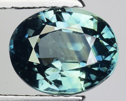 2.19 Cts Green Blue Sapphire Sparkling Intense GS12