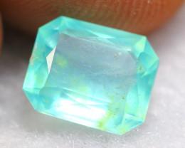Paraiba Opal 1.20Ct Natural Peruvian Paraiba Blue Opal $150 BR03