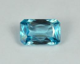 2.33 Cts Fabulous Lustrous Cambodian Blue Zircon