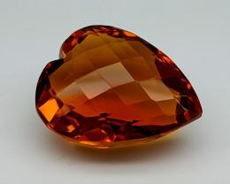 16.45Crt Madeira Citrine  Natural Gemstones JI66