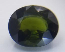 Turmalin, dunkelgrün, 2.45ct