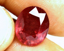7.97 Carat Fiery Red Ruby - Gorgeous