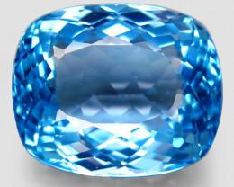 33.69  ct. Natural Swiss Blue Topaz Top Quality Gemstone Brazil – IGE Certi