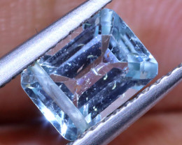 1.25 CTS FACETED AQUAMARINE STONE ANGC-533