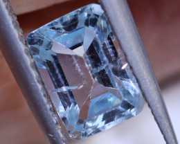 1.30 CTS FACETED AQUAMARINE STONE ANGC-536