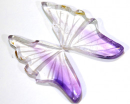 9 CTS AMETHYST BUTTERFLY CARVING  LT-941