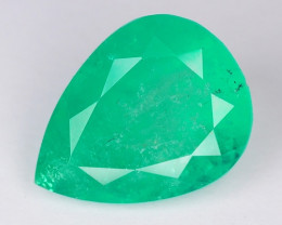 4.33  Cts Natural Earth Mined Green Color Colombian Emerald Gemstone