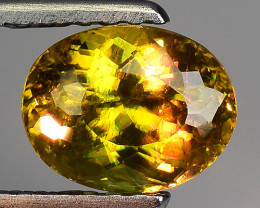 Mind Blowing Fire 1.35 Cts Chrome Sphene ~ SF98
