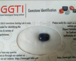 GGTI-Certified-2.80 ct Blue Afghanite Cabochon Natural