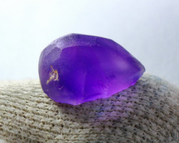 14.40 CT Unheated ~ Natural Purple color Amethyst Preform