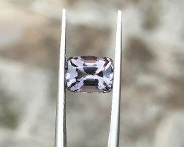 2.10 Ct Natural Gray Transparent Burma's Spinal Gemstone