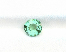 1.05 Ct Natural Green Sea Foam Color Transparent Tourmaline Gemstone