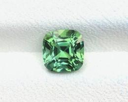1.30 Ct Natural Green Transparent Tourmaline Gemstone