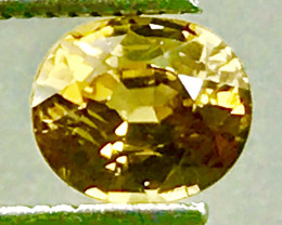 1.42 Ct Natural Zircon With Good Luster Gemstone Z16